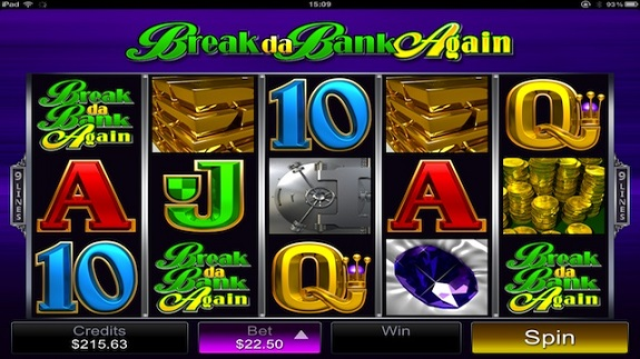 break da bank again mobile slot